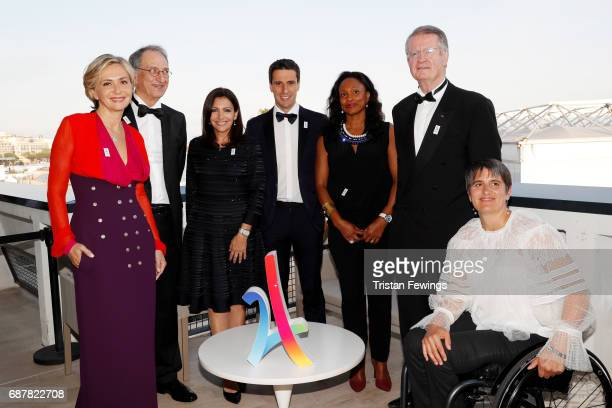 President of the Regional Council of IledeFrance Valerie Pecresse President of CNOSF Denis Masseglia Mayor of Paris Anne Hidalgo CoPresident 2024...