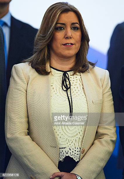 President of the regional goverment of Andalusia and PSOE Susana Diaz attends the Assembly Of The Association Of 'San Telmo' International Institute...