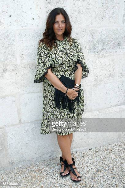 President of the Student Jury actress Cristiana Reali dressed in Prada attends the 10th Angouleme FrenchSpeaking Film Festival Day One on August 22...