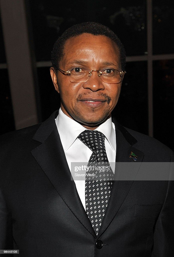 President of the United Republic of Tanzania Jakaya Mrisho Kikwete attends the Miracle Corners of the World Annual Gala dinner celebration at the NYU Africa House - Kimmel Center on April 13, 2010 in New York City.