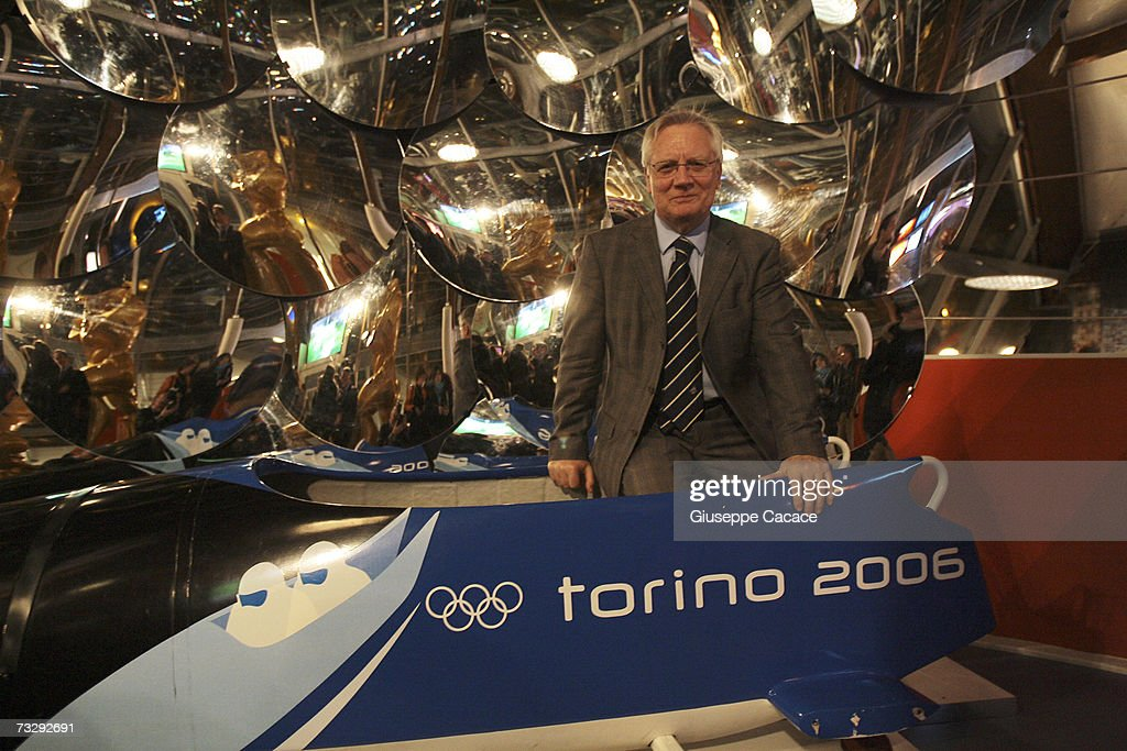 President of TOROC (Turin Olympic Committee) Valentino Castellani poses at the opening ceremony for the Olympic Museum at Atrium on February 10, 2007 in Turin, Italy.