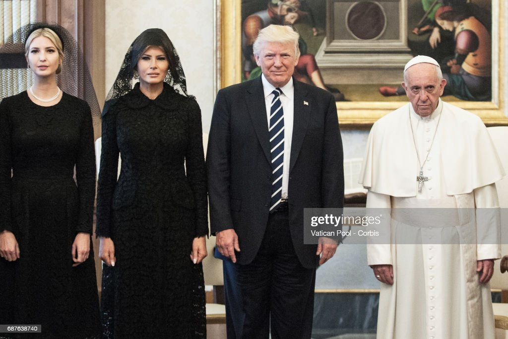 Donald Trump Meets The Pope At The Vatican