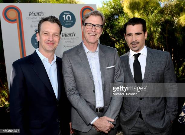 President of Walt Disney Studios Motion Picture Production Sean Bailey writer John Lee Hancock and actor Colin Farrell attend Variety's Creative...