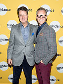 President of WNET Neal Shapiro and Producing Director at Sundance Institute Theatre Program Christopher Hibma attend the preview screening of 'The...
