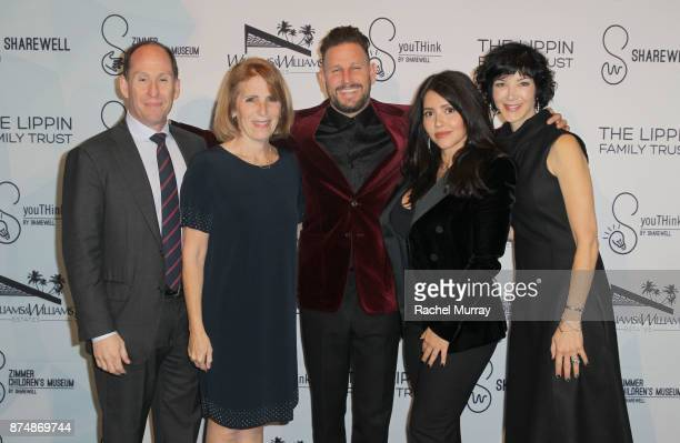 President of worldwide networks for Sony Pictures Television and Zimmer Board Chair Andy Kaplan CEO Zimmer ChildrenÕs Museum Esther Netter Honorees...