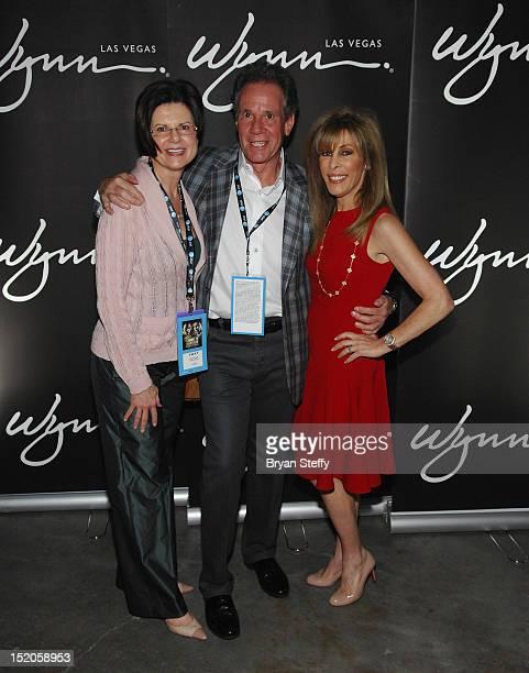 President of Wynn Las Vegas Marilyn Spiegel Chief Executive Officer of Wynn Las Vegas Marc Schorr and Janie Schorr attend the Chavez Jr vs Martinez...