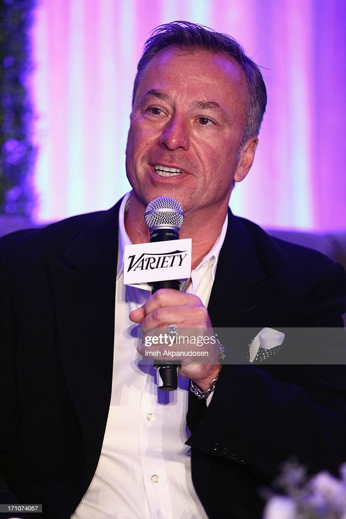 President & Owner Gray Media Tim Gray speaks onstage at Variety's Purpose: The Faith And Family Summit in Association with Rogers and Cowan at Four Seasons Hotel Los Angeles on June 21, 2013 in Beverly Hills, California.