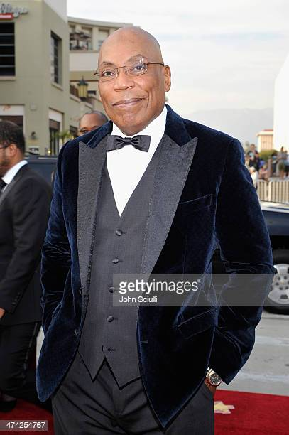 President Paris Barclay attends the 45th NAACP Image Awards presented by TV One at Pasadena Civic Auditorium on February 22 2014 in Pasadena...