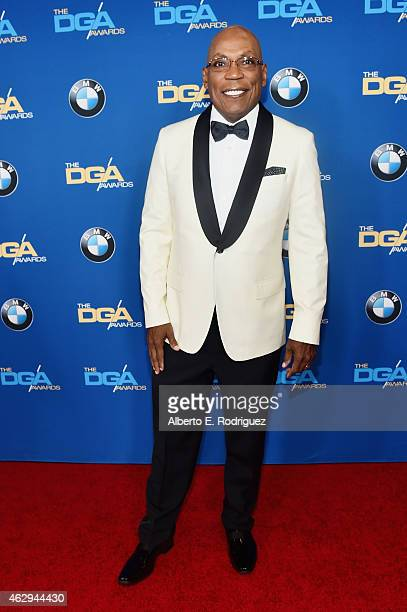 President Paris Barclay attends the 67th Annual Directors Guild Of America Awards at the Hyatt Regency Century Plaza on February 7 2015 in Century...