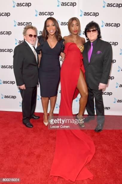 ASCAP President Paul Williams Vice President Rhythm Soul/ Urban Membership ASCAP Nicole GeorgeMiddleton Sevyn Streeter and EVP/ Membership ASCAP John...