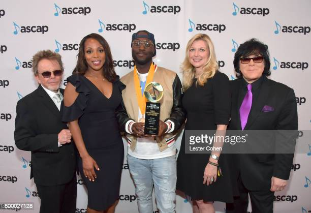 ASCAP President Paul Williams Vice President Rhythm Soul/ Urban Membership ASCAP Nicole GeorgeMiddleton Songwriter of the Year honoree Paul...