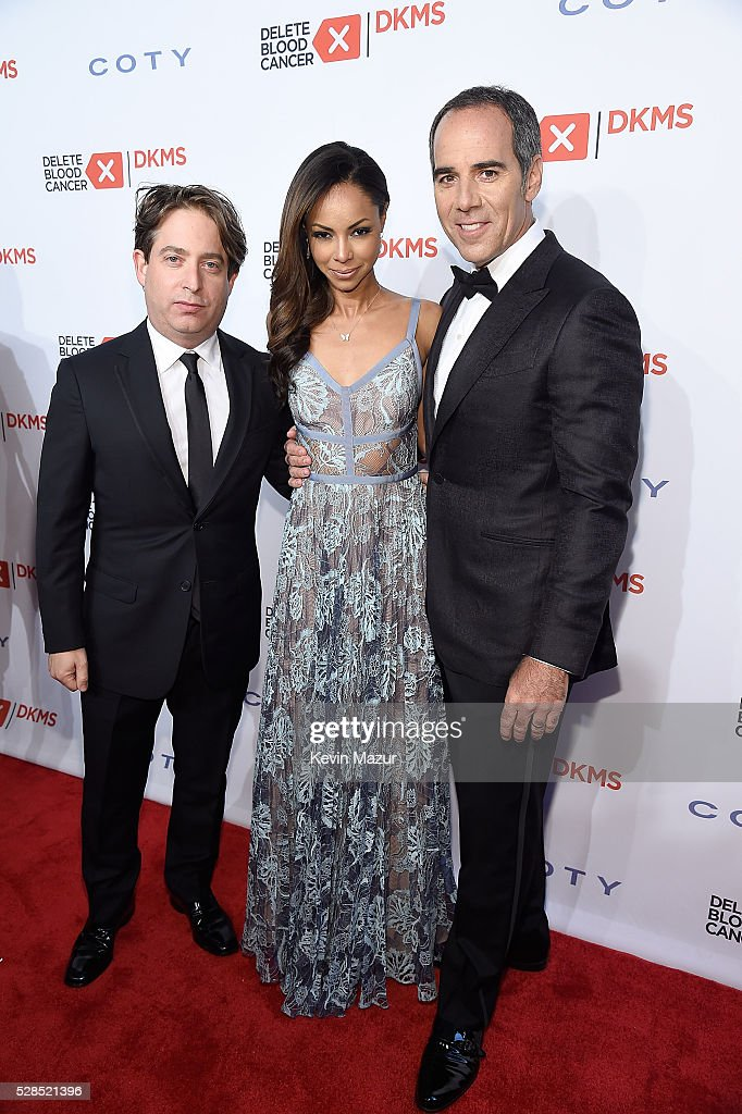 President, Republic Records Charlie Walk, Angelina Lipman and President, Republic Records Monte Lipman attend the 10th Annual Delete Blood Cancer DKMS Gala at Cipriani Wall Street on May 5, 2016 in New York City.