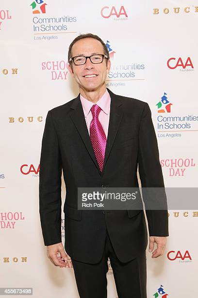 President Richard Lovett attends CAA's School Day Benefiting Communities In Schools of Los Angeles at Bouchon on September 18 2014 in Beverly Hills...