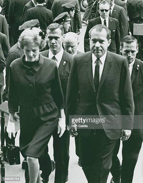 Richard Nixon Funeral Stock Photos And Pictures Getty Images
