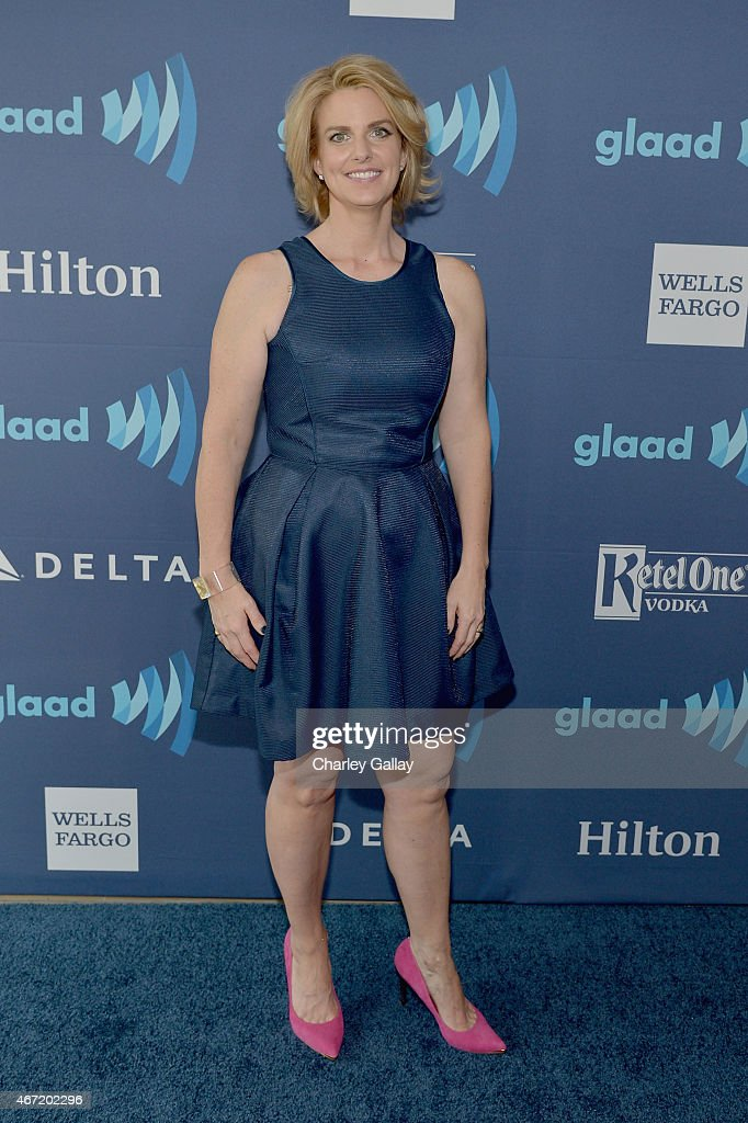 CEO & President Sarah Kate Ellis attends the 26th Annual GLAAD Media Awards at The Beverly Hilton Hotel on March 21, 2015 in Beverly Hills, California.
