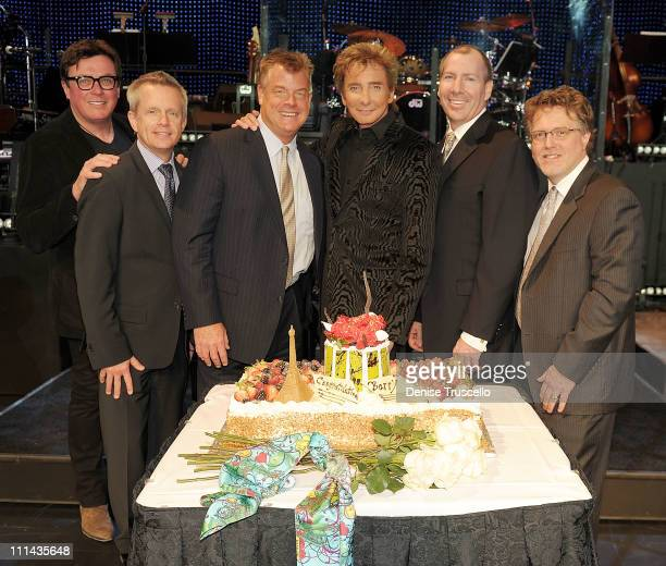 President Stiletto Entertainmen Garry Kief VP AEG Live Las Vegas John Nelson VP/GM Paris Las Vegas Davide Hoenemeyer Barry Manilow VP of Finance...