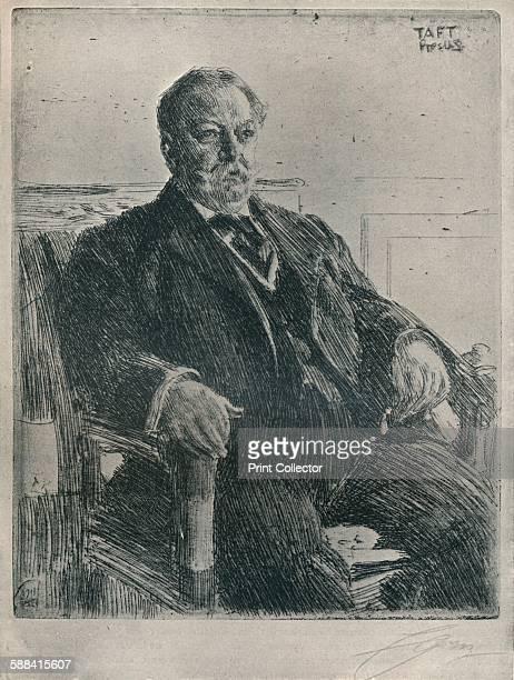 President Taft'1911 William Howard Taft 27th President of the United States From The Studio Volume 68 Artist Anders Leonard Zorn