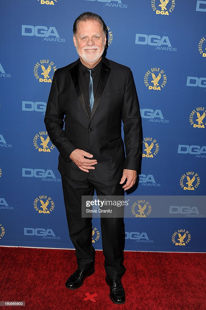 President Taylor Hackford attends the 65th Annual Directors Guild Of America Awards at The Ray Dolby Ballroom at Hollywood & Highland Center on February 2, 2013 in Hollywood, California.