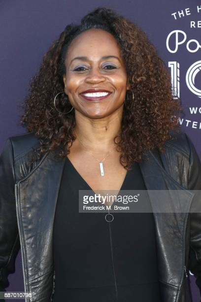 President Universal Television Pearlena Igbokwe attends The Hollywood Reporter's 2017 Women In Entertainment Breakfast at Milk Studios on December 6...