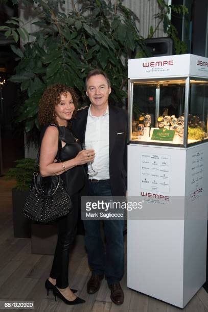 President Wempe USA Ruediger Albers attends Gotham Magazine's Celebration of it's Late Spring Issue with Noah Syndergaard at 1 Hotel Brooklyn Bridge...