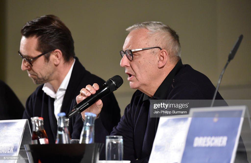 president Werner Gegenbauer of Hertha BSC bei Hertha BSC im Dialog on november 13, 2017 in Berlin, Germany.