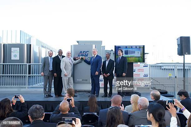 President/CEO AEG Dan Beckerman City Councilmember Curren Price President STAPLES Center/LA Live Lee Zeidman Former Vice President Al Gore CEO Bloom...