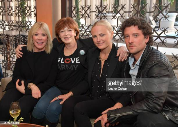 President/CEO of EMA Debbie Levin actors/activists Frances Fisher and Malin Akerman and actor Jack Donnelly attend the EMA IMPACT Summit hosted by...