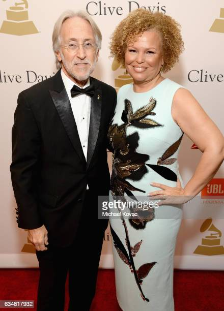 President/CEO of The Recording Academy and GRAMMY Foundation President/CEO Neil Portnow and honoree Debra L Lee attend PreGRAMMY Gala and Salute to...