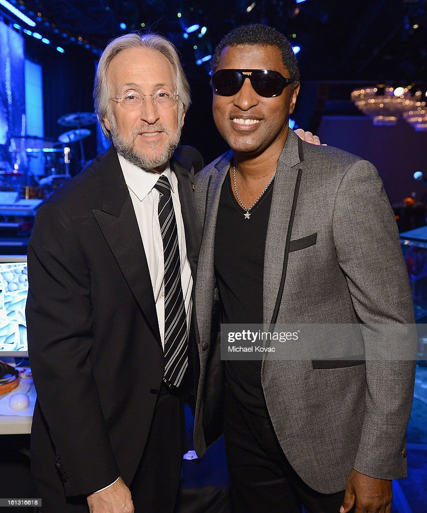President/CEO of The Recording Academy Neil Portnow and producer Babyface attend the 55th Annual GRAMMY Awards Pre-GRAMMY Gala and Salute to Industry Icons honoring L.A. Reid held at The Beverly Hilton on February 9, 2013 in Los Angeles, California.
