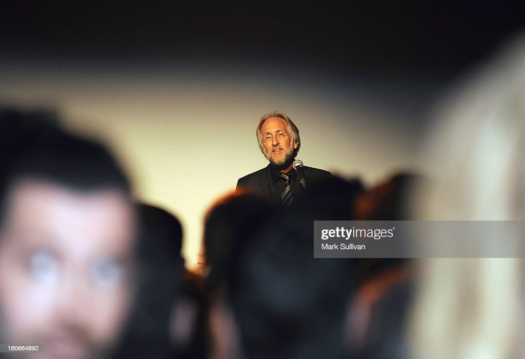 President/CEO of The Recording Academy <a gi-track='captionPersonalityLinkClicked' href=/galleries/search?phrase=Neil+Portnow&family=editorial&specificpeople=208909 ng-click='$event.stopPropagation()'>Neil Portnow</a> attends The 55th Annual GRAMMY Awards - P&E Wing Event Honoring Quincy Jones And Al Schmitt held at The Village on February 6, 2013 in West Los Angeles, California.