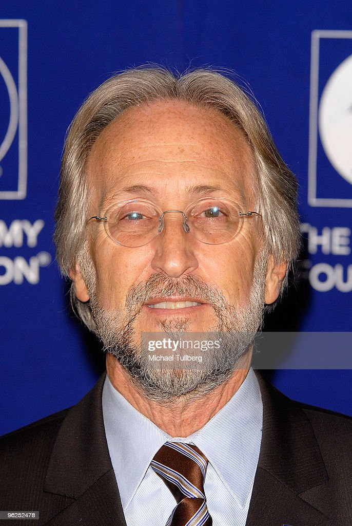 President/CEO of the Recordning Academy Neil Portnow arrives at the GRAMMY Foundation's 12th Annual Music Preservation Project 'Cue The Music: A Celebration Of Music And Television', held at the Wilshire Ebell Theatre on January 28, 2010 in Los Angeles, California.