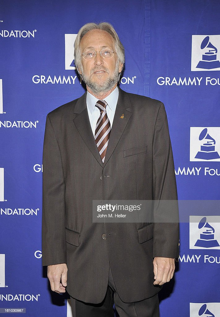 President/CEO, The Recording Academy <a gi-track='captionPersonalityLinkClicked' href=/galleries/search?phrase=Neil+Portnow&family=editorial&specificpeople=208909 ng-click='$event.stopPropagation()'>Neil Portnow</a> arrives at the 2013 Grammy Foundation's 15th Annual Entertainment Law Initiative Luncheon at Beverly Hills Hotel on February 8, 2013 in Beverly Hills, California.