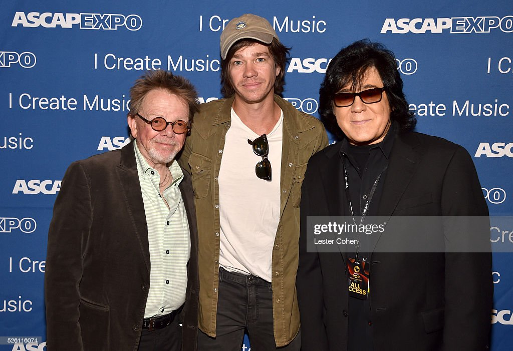 President/Chairman <a gi-track='captionPersonalityLinkClicked' href=/galleries/search?phrase=Paul+Williams+-+Songwriter&family=editorial&specificpeople=5853768 ng-click='$event.stopPropagation()'>Paul Williams</a>, singer-songwriter <a gi-track='captionPersonalityLinkClicked' href=/galleries/search?phrase=Nate+Ruess&family=editorial&specificpeople=6897270 ng-click='$event.stopPropagation()'>Nate Ruess</a> and ASCAP Membership EVP <a gi-track='captionPersonalityLinkClicked' href=/galleries/search?phrase=John+Titta&family=editorial&specificpeople=7864853 ng-click='$event.stopPropagation()'>John Titta</a> attend the 2016 ASCAP 'I Create Music' EXPO on April 29, 2016 in Los Angeles, California.