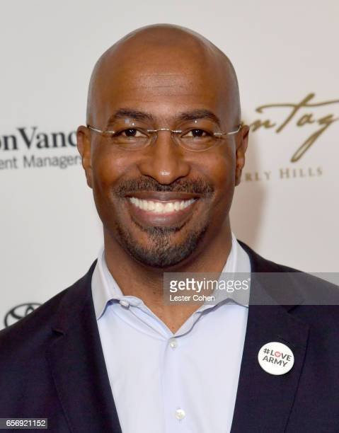 President/cofounder of The Dream Corps and CNN contributor Van Jones attends the EMA IMPACT Summit hosted by the Environmental Media Association...
