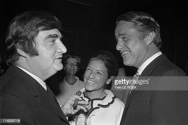 Presidential Election results in Paris France on June 02 1969Pierre Salinger Sargent Shriver