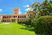 Presidential Palace in Asuncion, Paraguay. It serves as a workplace for the President and the government of Paraguay.