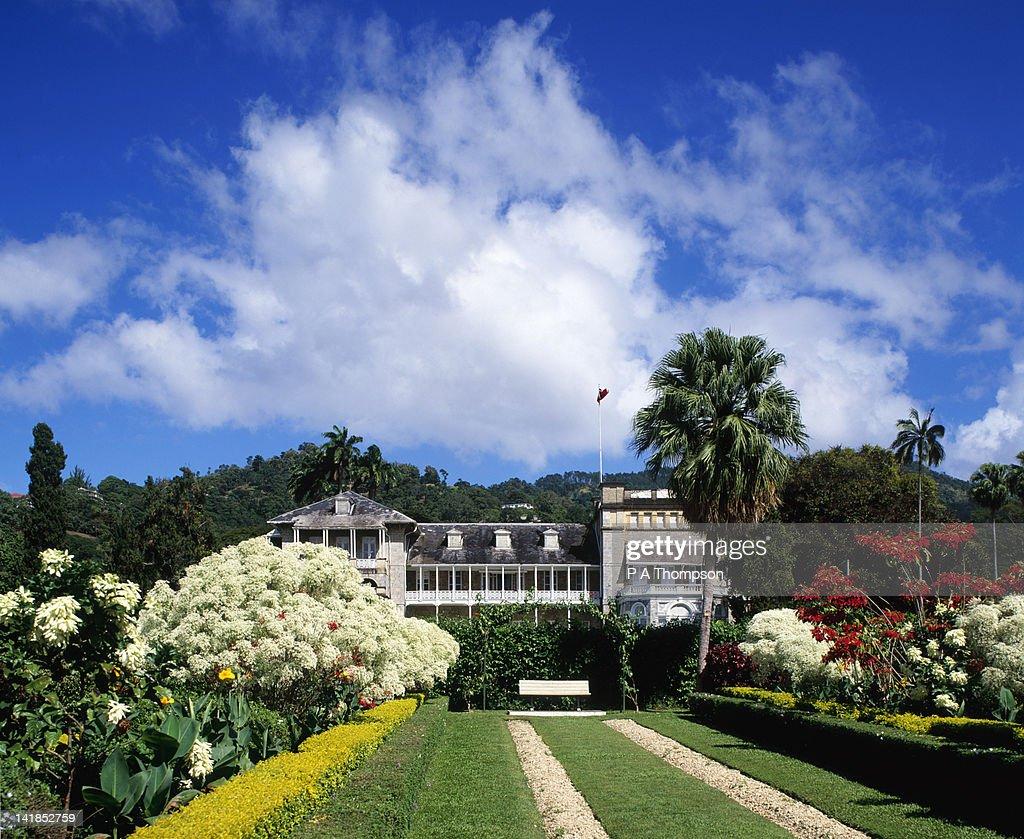 Presidential Residence & Botanical Gardens, Port of Spain, Trinidad, Caribbean