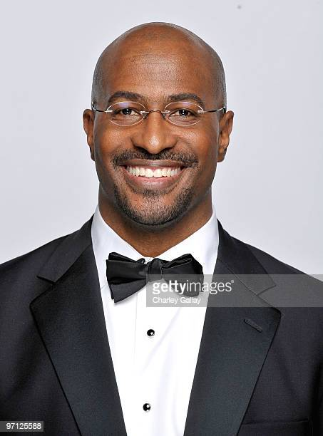 President's Award winner Van Jones poses for a portrait during the 41st NAACP Image awards held at The Shrine Auditorium on February 26 2010 in Los...
