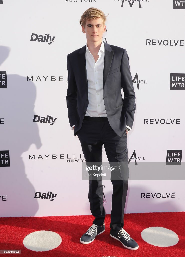 Presley Gerber arrives at the Daily Front Row's 3rd Annual Fashion Los Angeles Awards at the Sunset Tower Hotel on April 2, 2017 in West Hollywood, California.