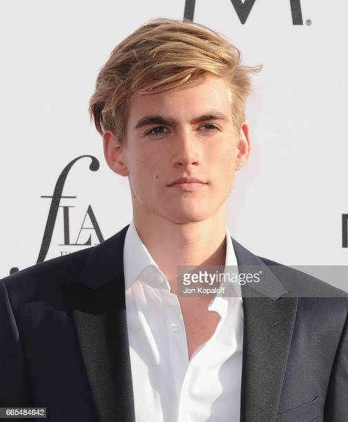 Presley Gerber arrives at the Daily Front Row's 3rd Annual Fashion Los Angeles Awards at the Sunset Tower Hotel on April 2 2017 in West Hollywood...