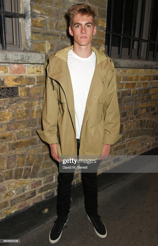 Presley Gerber attends a celebration of the Stella McCartney AW17 collection and film launch at Ye Olde Mitre on June 10, 2017 in London, England.
