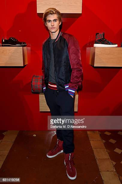 Presley Gerber attends Hilfiger Edition Fall2017 Presentation on January 10 2017 in Florence Italy