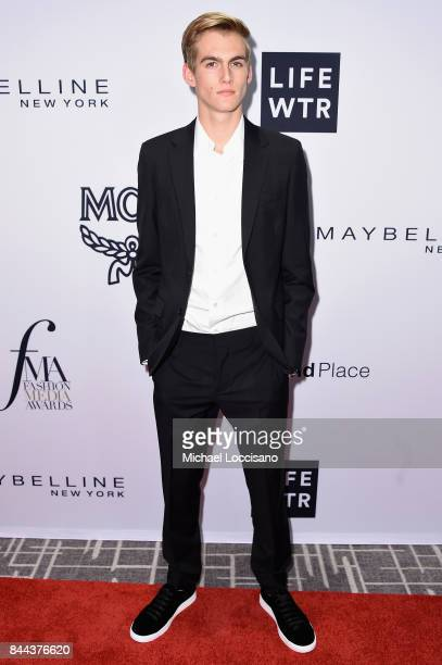 Presley Gerber attends the Daily Front Row's Fashion Media Awards at Four Seasons Hotel New York Downtown on September 8 2017 in New York City