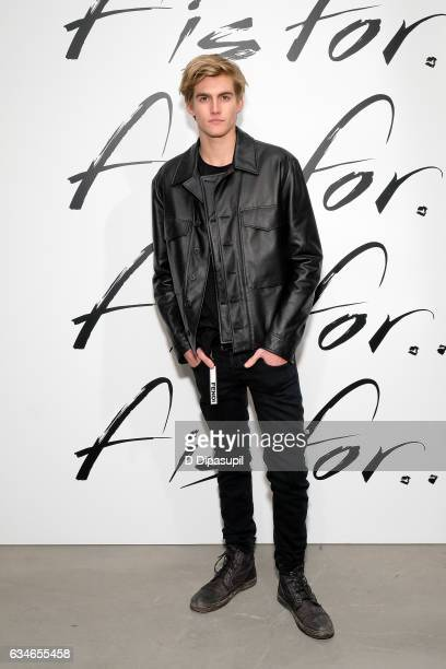 Presley Gerber attends the F Is For Fendi New York Fashion Week Party on February 10 2017 in New York City