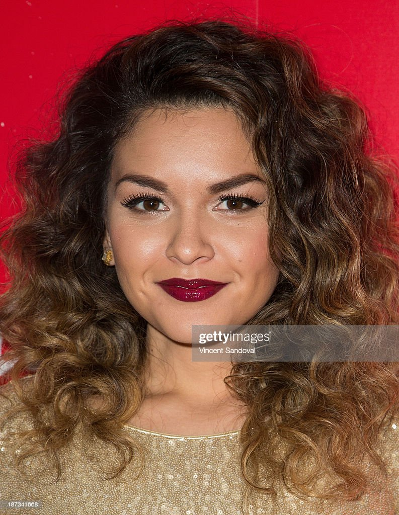 Presley Hernandez of The Lylas attends WE tv's premiere party for 'The LYLAS' at Warwick on November 7, 2013 in Hollywood, California.