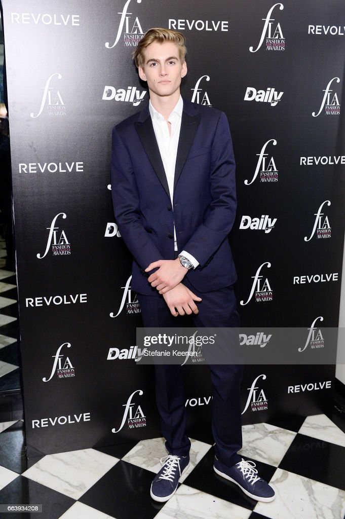 Presley Walker Gerber attends The Daily Front Row and REVOLVE FLA after party at Mr. Chow hosted by Mert Alas on April 2, 2017 in Los Angeles, California.