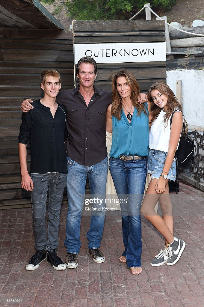Cindy Crawford, Kaia and Presley Gerber celebrate Omega in style at Paris Fashion Week