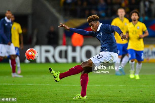 Presnel KIMPEMBE France / Bresil Espoirs Match amical 2015 Photo Dave Winter / Icon Sport
