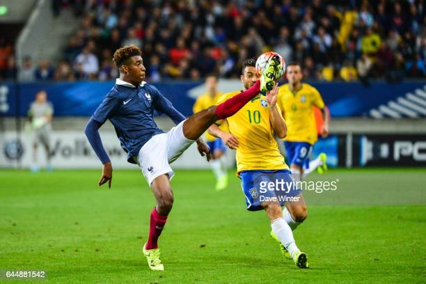 Presnel KIMPEMBE / FELIPE ANDERSON France / Bresil Espoirs Match amical 2015 Photo Dave Winter / Icon Sport