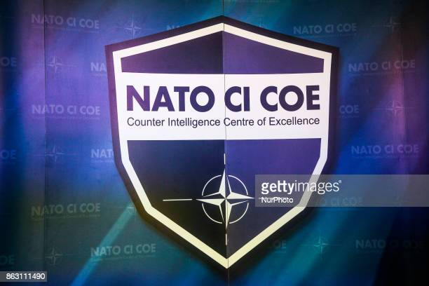 A press conference for the opening of NATO Counter Intelligence Centre of Excellence opens in Krakow Poland on 19 October 2017